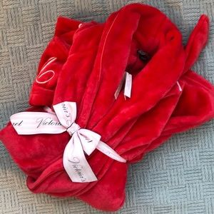 NWT Victoria's Secret Robe | Red Bathrobe XS